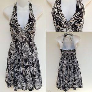 ✨H&M Floral Halter Dress